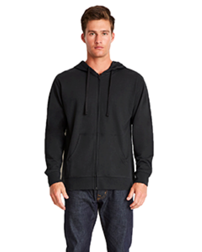 Adult French Terry Zip Hoody front Image