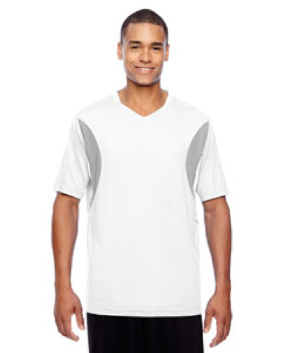 Short-Sleeve Athletic V-Neck All Sport Jersey front Image