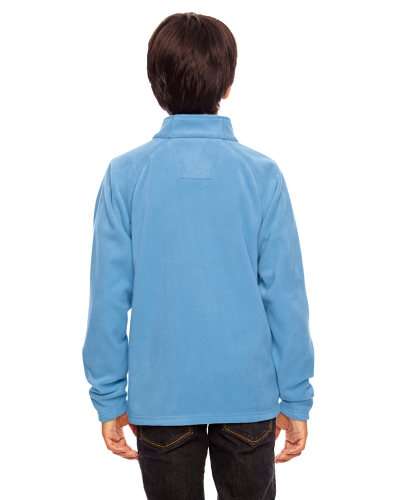 Youth Campus Microfleece Jacket back Image