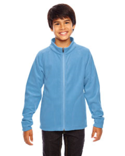 Youth Campus Microfleece Jacket front Image