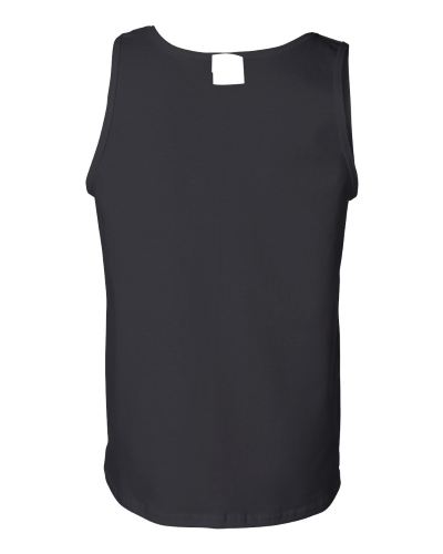Men's Cotton Tank Top back Image