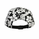Hawaiian Pattern Five Panel Camper Hat back Thumb Image