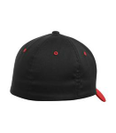 Flexfit Colour-block Fitted Hat. back Thumb Image