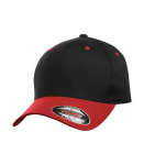 Flexfit Colour-block Fitted Hat. front Thumb Image