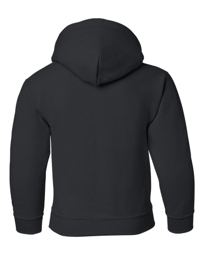 Heavy Blend Youth Hooded Sweatshirt back Image