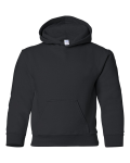 Heavy Blend Youth Hooded Sweatshirt front Thumb Image