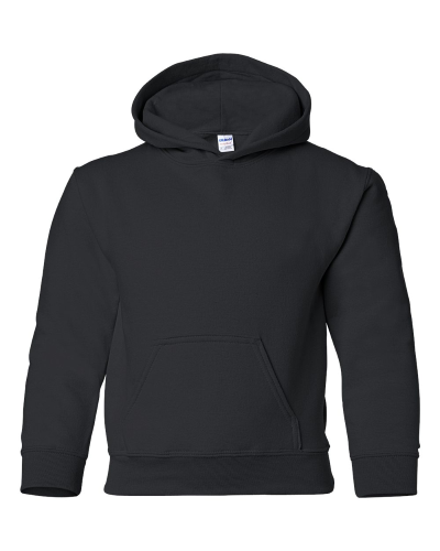 Heavy Blend Youth Hooded Sweatshirt front Image