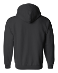 Heavy Blend Full-Zip Hooded Sweatshirt back Thumb Image