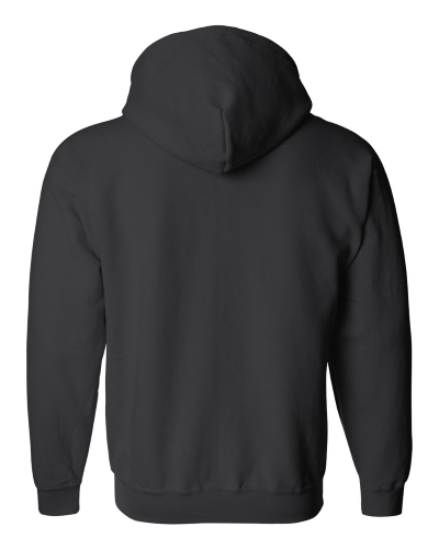 Heavy Blend Full-Zip Hooded Sweatshirt back Image