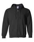 Heavy Blend Full-Zip Hooded Sweatshirt front Thumb Image