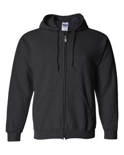 Heavy Blend Full-Zip Hooded Sweatshirt front Image