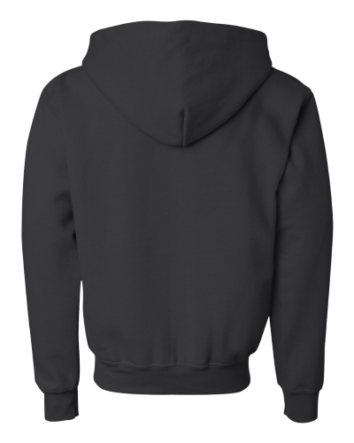 Heavy Blend Youth Full-Zip Hooded Sweatshirt back Image