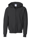 Heavy Blend Youth Full-Zip Hooded Sweatshirt front Thumb Image