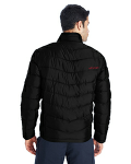 Spyder Men's Pelmo Insulated Puffer Jacket back Thumb Image
