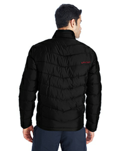 Spyder Men's Pelmo Insulated Puffer Jacket back Image