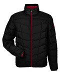 Spyder Men's Pelmo Insulated Puffer Jacket front Thumb Image