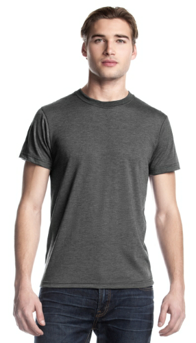 Bamboo Tri-Blend Crewneck T front Image