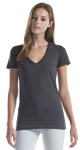 Essential Bamboo Tri-Blend V-Neck front Thumb Image