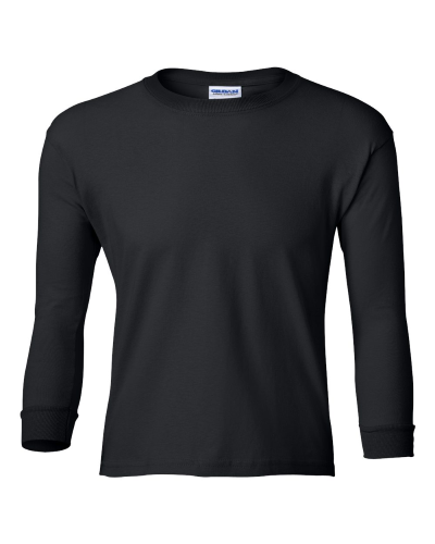 Ultra Cotton Youth Long Sleeve T-Shirt front Image