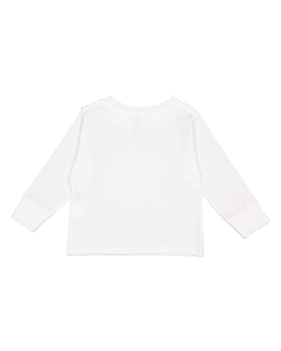 Toddler Long-Sleeve Cotton Jersey T-Shirt back Image