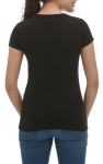 LADIES BLEND V-NECK TEE back Thumb Image