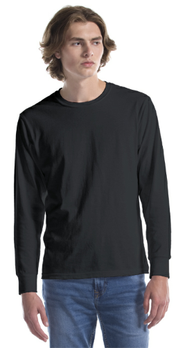 Fine Jersey Long Sleeve T-Shirt front Image