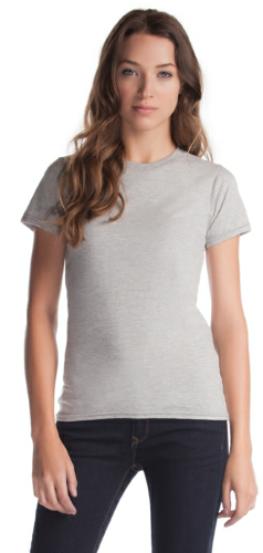 Ring Spun Cotton Ladies T-Shirt front Image
