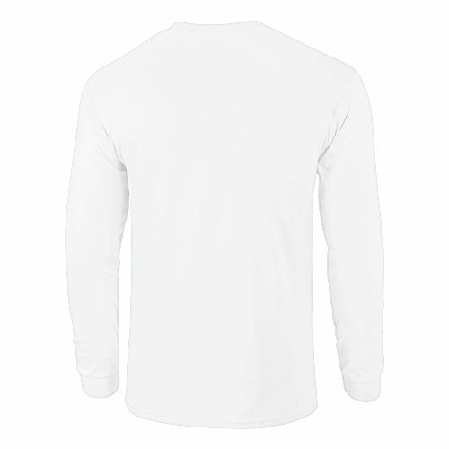 HD Cotton Long Sleeve Youth T-Shirt back Image