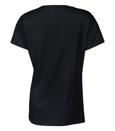 Ladies Missy Fit T-Shirt back Image
