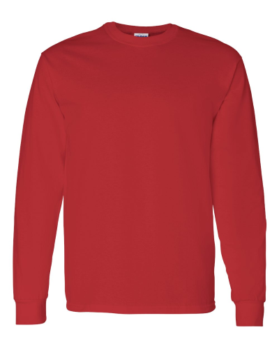 Heavy Cotton Long Sleeve T-Shirt front Image