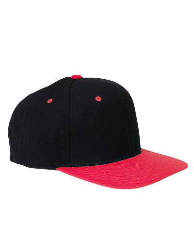 6-Panel Structured Flat Visor Classic Snapback front Image