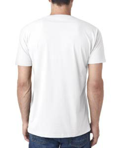 Sueded V-Neck back Image