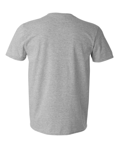 Men's V-Neck T-Shirt back Image