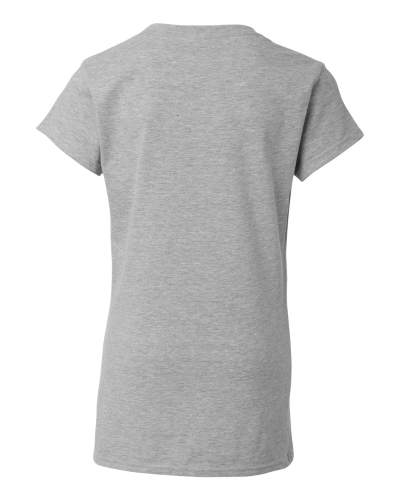 Ladies V-Neck T-Shirt back Image