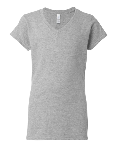 Ladies V-Neck T-Shirt front Image