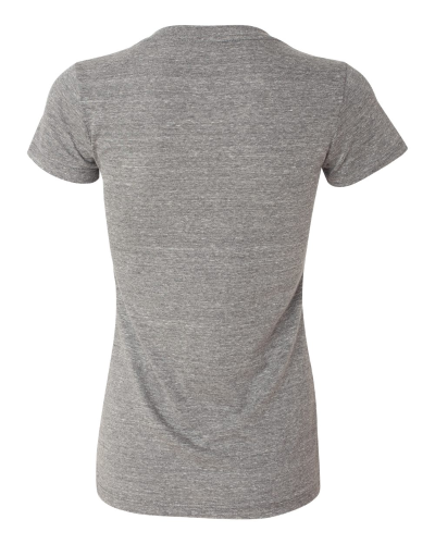 TriBlend Deep V-Neck back Image