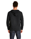 Adult French Terry Zip Hoody back Thumb Image
