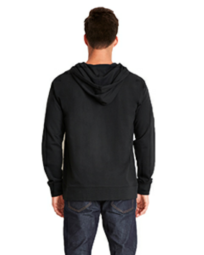Adult French Terry Zip Hoody back Image