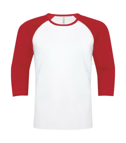 Cotton Baseball Tee front Image