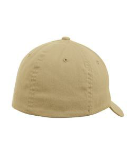 Garment Washed Cap back Image