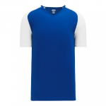 V-Neck Pullover Baseball Jersey front Thumb Image
