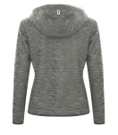 DRYFRAME® Dry Tech Fleece Full Zip Hooded Ladies' Jacket back Thumb Image
