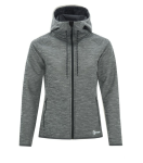 DRYFRAME® Dry Tech Fleece Full Zip Hooded Ladies' Jacket front Thumb Image