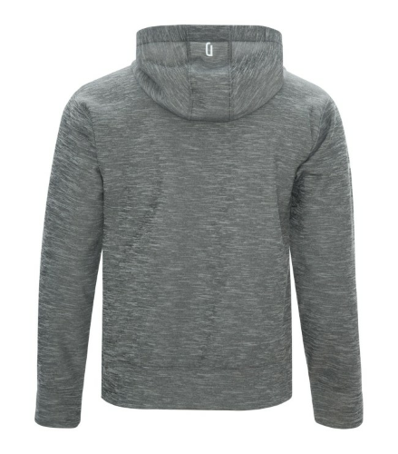 DRYFRAME® Dry Tech Fleece Pullover Hood back Image