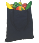 Basic Cotton Tote Bag back Thumb Image