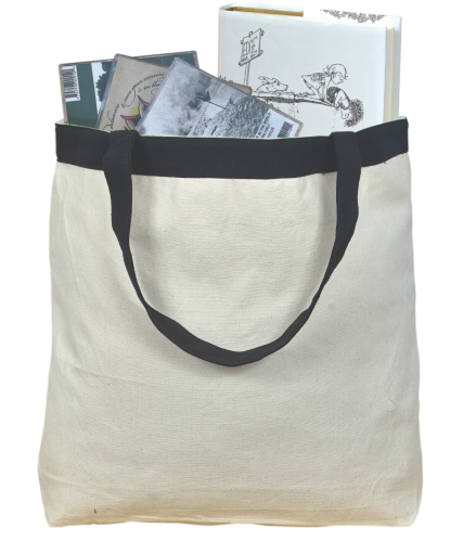 Cotton Contrast Tote back Image