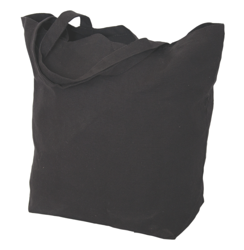 Oversize Cotton Tote Bag back Image