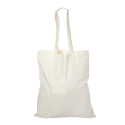 Cotton Tote Bag back Image