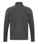 DYNAMIC HEATHER FLEECE 1/2 ZIP SWEATSHIRT back Thumb Image