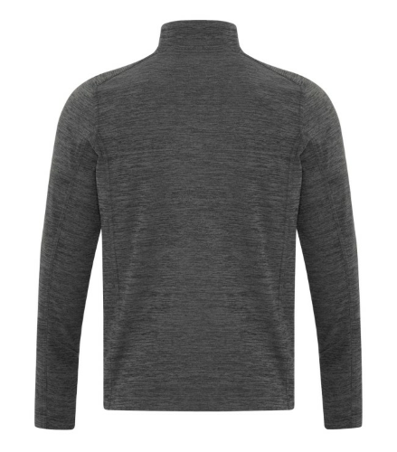 DYNAMIC HEATHER FLEECE 1/2 ZIP SWEATSHIRT back Image